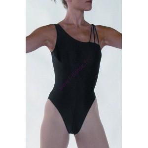 Léane justaucorps de danse avec découpe asymétrique chez L danse 23324093b97